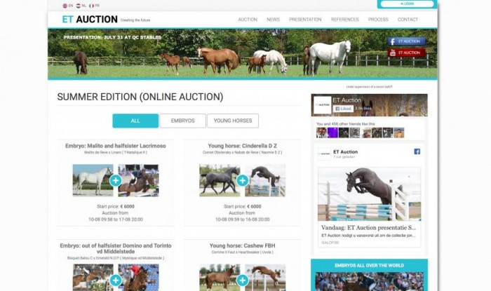 ET Auction Summer Edition