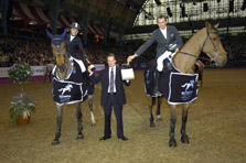 Nabab's son wint 6-barenproef  in Olympia