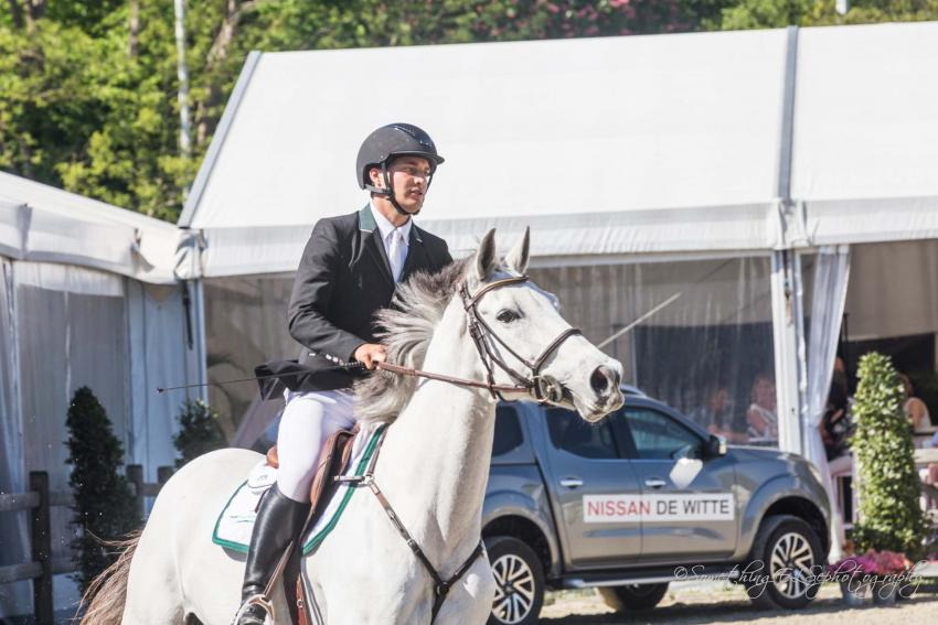 Fourth place for Christophe De Brabander and Genève de Muze in GP Paris
